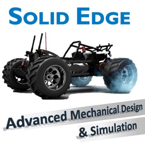Diseño Mecánico Industrial Avanzado y Simulación Mecánica con Solid Edge