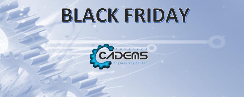 Black Friday en Cursos/Másters Online en Diseño Industrial CADEMS
